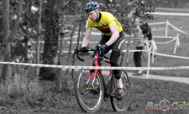 Roger Aiken champion d'Irlande de Cyclo Cross devant Robin Seymour