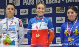 Pauline Ferrand-Prévot gagne le contre-la-montre féminin à Lannilis
