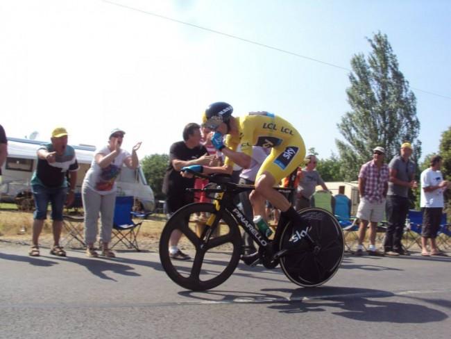 Chris Froome marque les esprits sur le Dauphiné