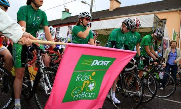 Le Team feminin de Bretagne sur la An Post Ras na Mban en Irlande