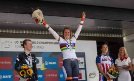 Ellen Van Dijk s'impose logiquement au contre la montre Dames U23