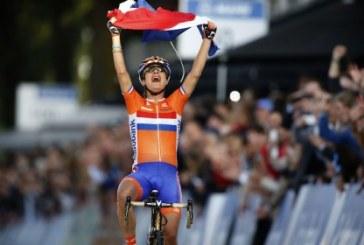 Marianne Vos conserve son titre de Championne du Monde