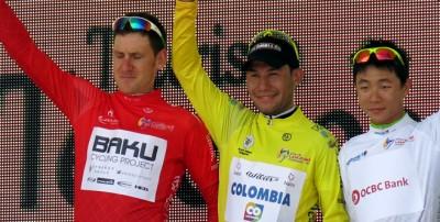Tour de Langkawi ; Duber Quintero remporte la 1 ère étape, L'Irlandais Matt Brammeier 2 ème