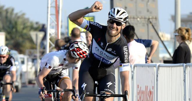 Et de 2 pour Tom Boonen sur le Tour du Qatar, Sam Bennett 5 ème de l'étape