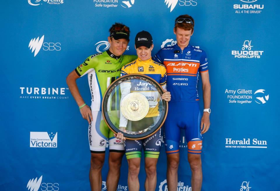 La dernière étape du Jayco Herald Sun Tour annulée , Simon Clarke vainqueur final