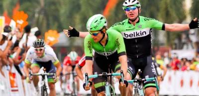 Doublé du Team Belkin sur le Tour de Langkawi, Quintero toujours leader