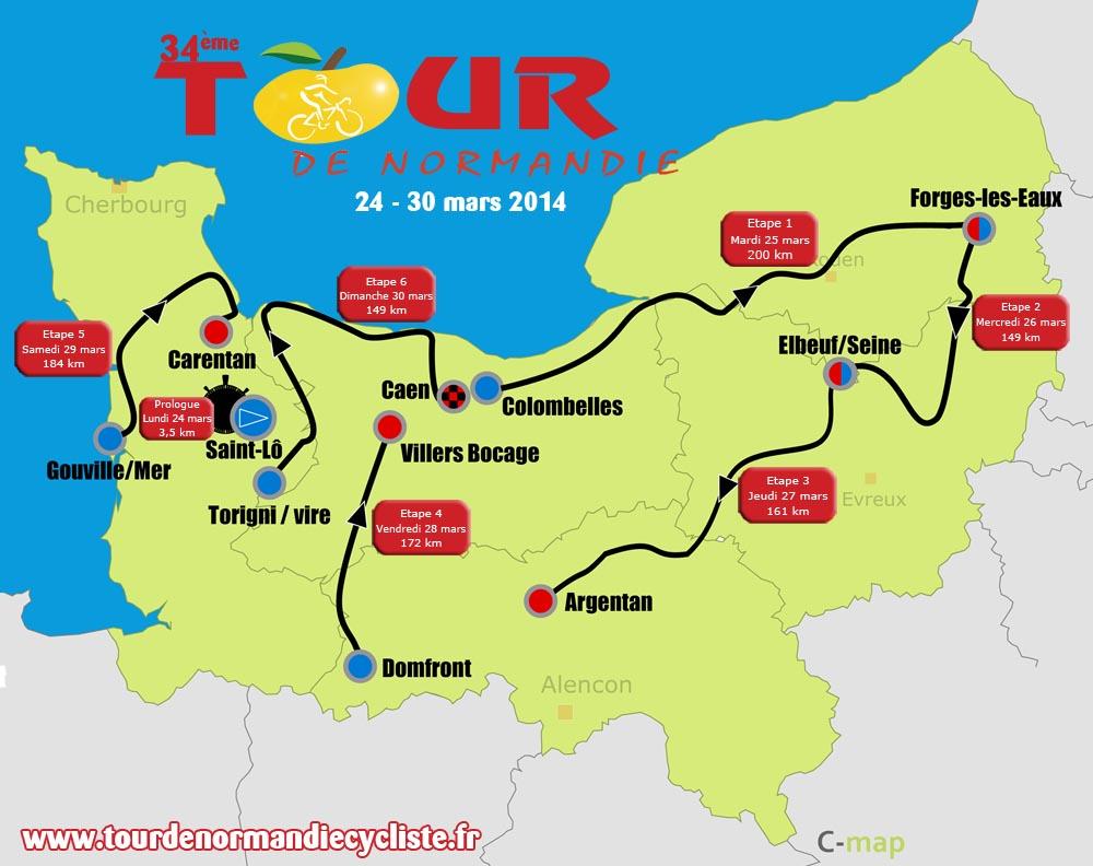 La prometteuse édition du 34 ème Tour de Normandie