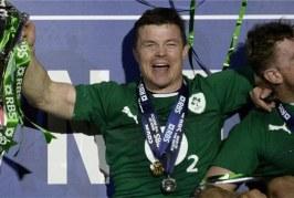 Brian O'Driscoll tire sa révérence en ramenant le trophée des 6 Nations en Irlande