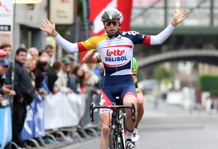 Tour de Normandie: Daniel McLay s'impose sur la 3 ème étape, Tom Moses toujours leader