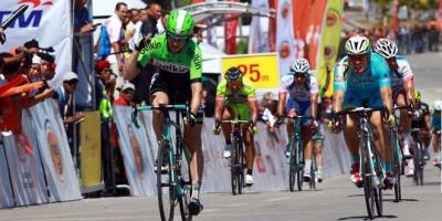 Encore Théo Bos sur la 8 ème étape du Tour de Langkawi