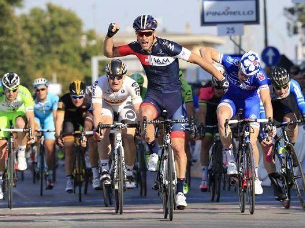 Tirreno Adriatico: Matteo Pelucchi s'impose au sprint sur la 2 ème étape, Sam Bennett 4 ème