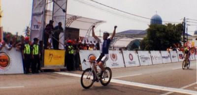 Bradley White gagne la 5 ème étape du Tour de Langkawi