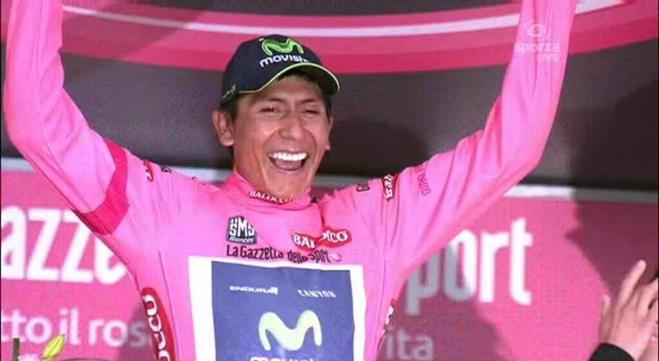 Giro: Nairo Quintana au dessus de tous