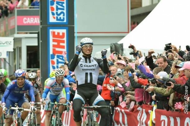 Marcel Kittel explosif pour sa 2ème victoire (Photo Sean Rowe)