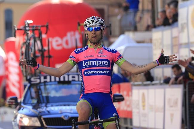 Giro 2014: Diego Ulissi s'offre la 5ème étape
