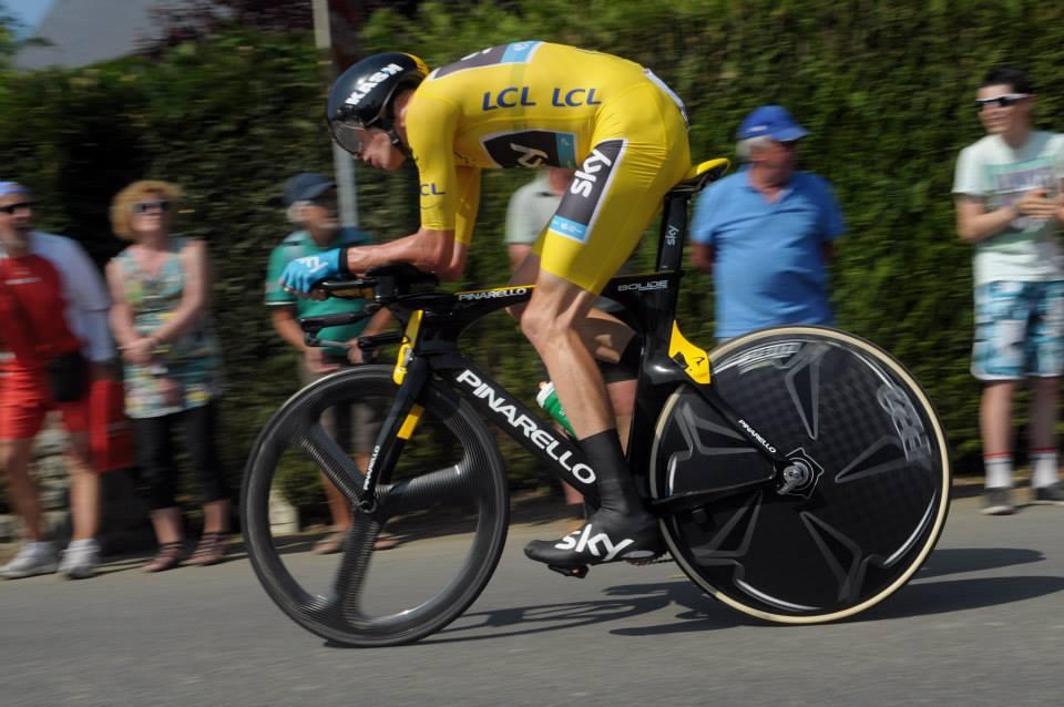 Froome devant Contador sur le Dauphiné Libéré