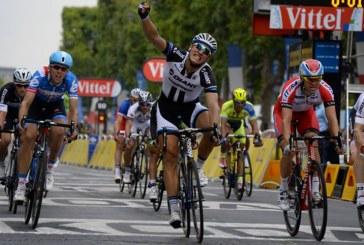 Marcel Kittel gagne aux Champs Elysées, Nibali rejoint Gimondi