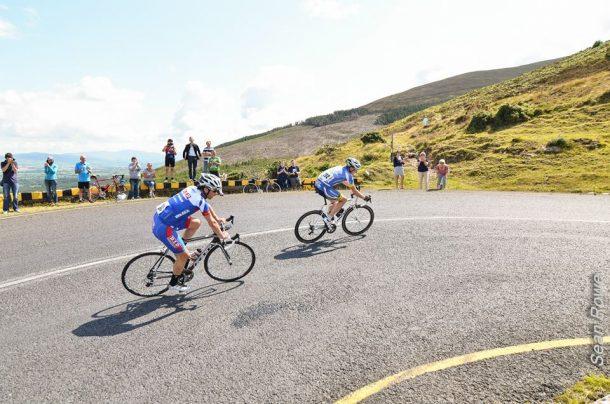 Les montées Irlandaises sont de véritables murs (photo Sean Rowe)