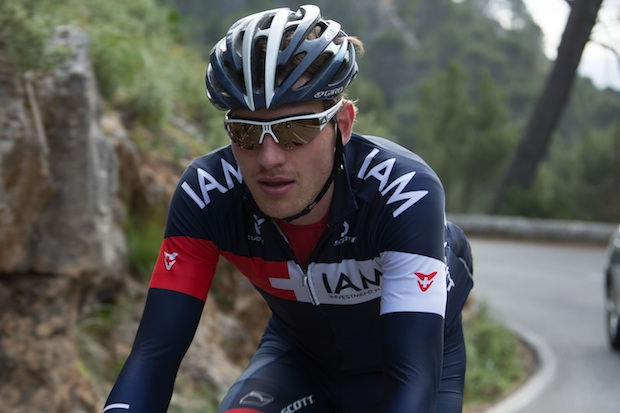 Tour of Britain: Matthias Brändle en solitaire