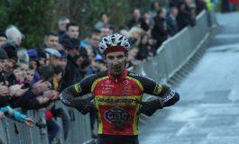Gouesnou: Matthieu Boulo étrenne son nouveau maillot RALEIGH-GAC