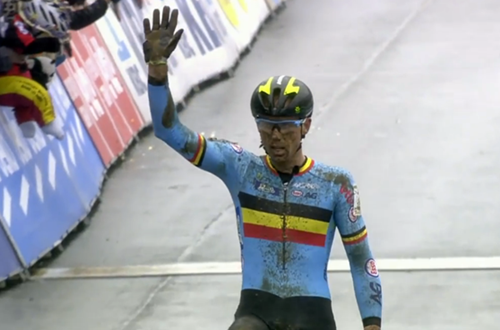 Wout Van Aert champion du Monde