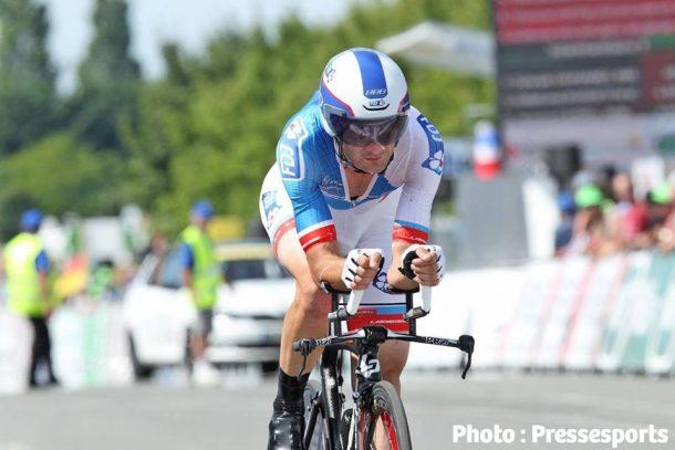 Le contre la montre où il fut champion de France en 2007 (photo Pressesport)
