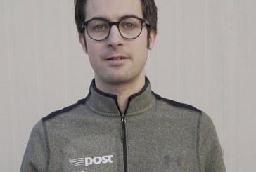 François Delanoë, le Breton du team Irlandais An Post ChainReaction