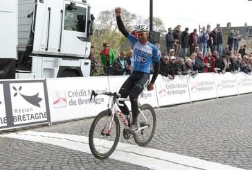 Tour de Bretagne; le beau numéro de Flavien Dassonville (HP BTP Auber 93)