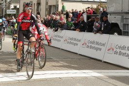 Tour de Bretagne; Bram Welten (BMC Development) au sprint