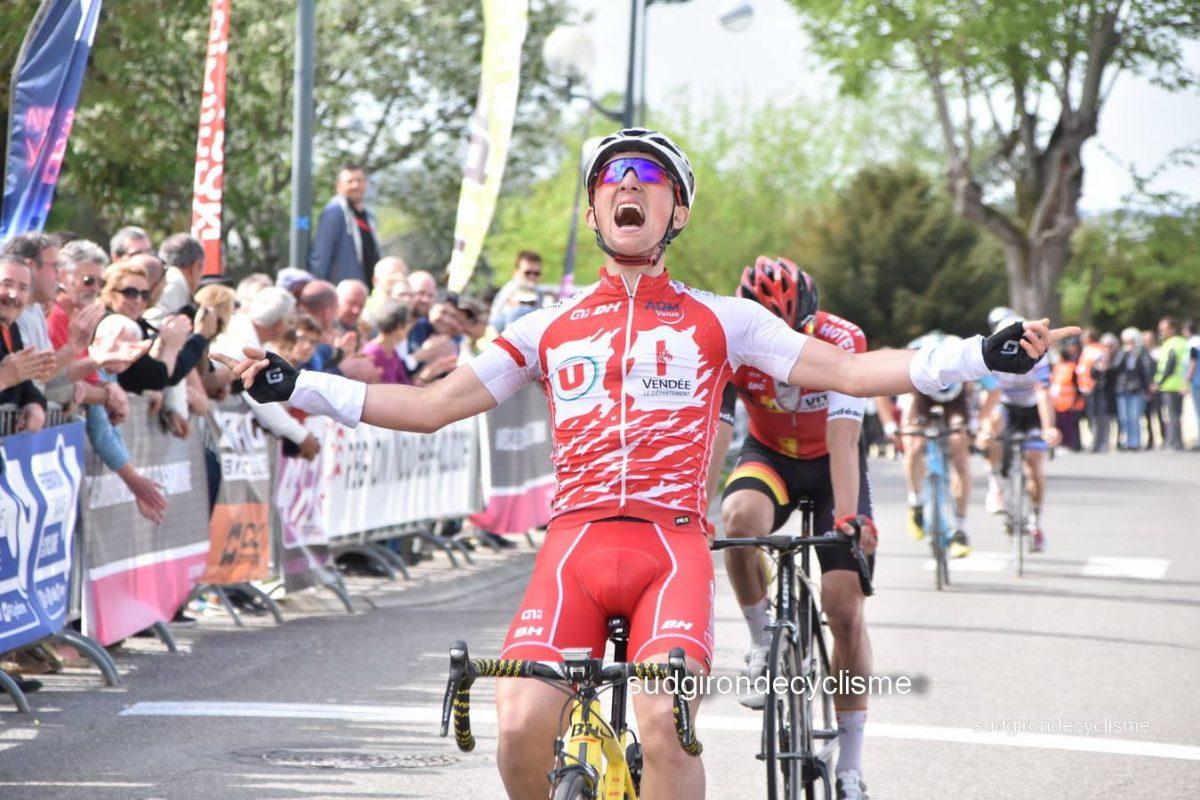 Mathieu Burgaudeau remporte le Tour du Lot-et-Garonne