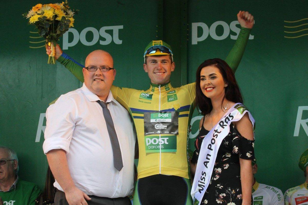 Matthew Teggart; » Porter le maillot jaune sur la RAS pour un Irlandais, c'est quelque chose d'incroyable! «