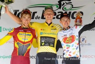 Tour de Beauce; La der pour Rob Britton, Clément Russo 2ème du général