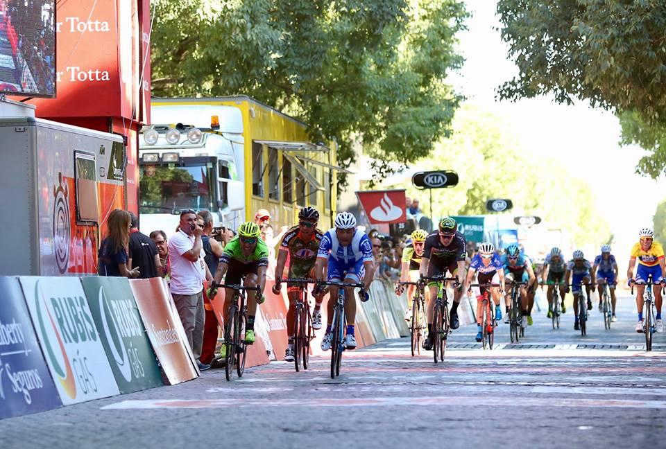 Tour du Portugal; Samuel Caldeira au finish, Stéphane Poulhiès 3 ème