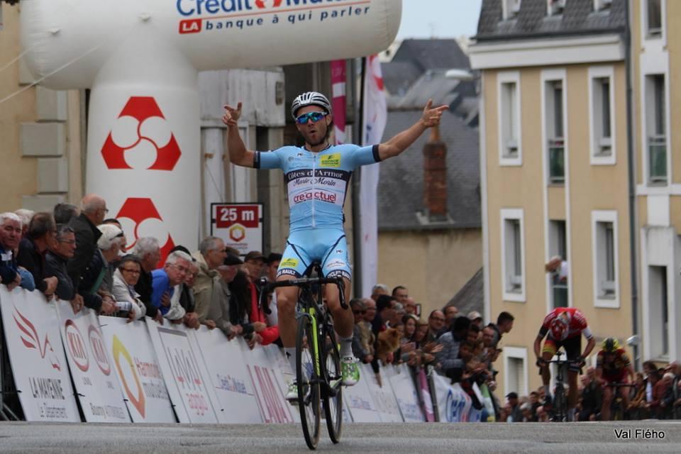 Ronde Mayennaise: Maxime Cam frappe de nouveau !