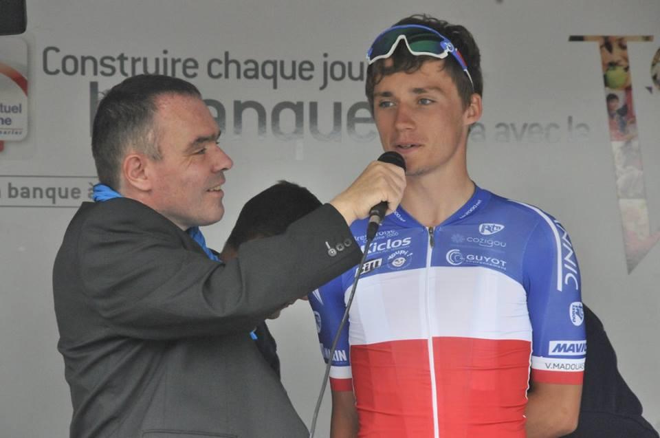 Eric Le Balc'h, une voix au service du cyclisme