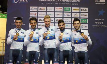 La superbe soirée de l'équipe de France sur les championnats d'Europe sur piste
