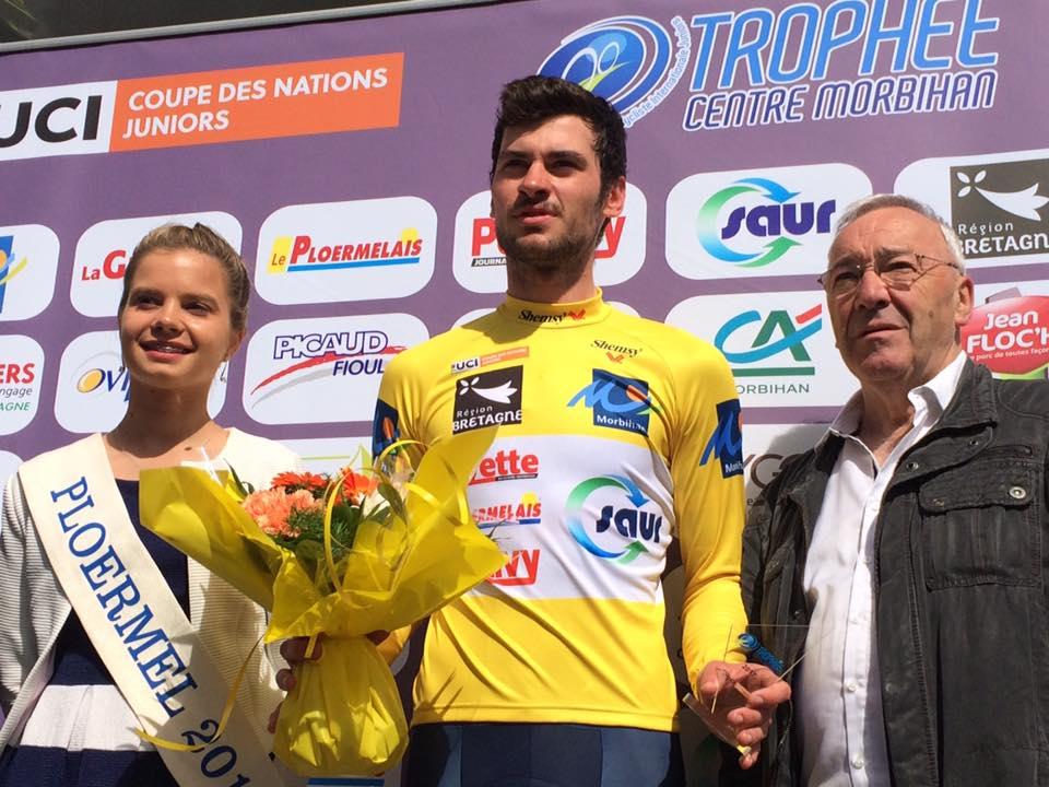 Florentin Lecamus-Lambert rejoint le team Pays de Dinan