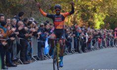 Cyclo-cross de Quimper: Mickaël Crispin en costaud !