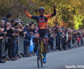 Cyclo-cross de Quimper: Mickaël Crispin en costaud !