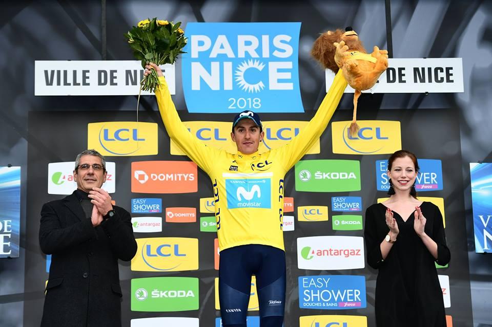 Marc Soler: «J'ai essayé de refaire ce que Contador avait fait sur Paris-Nice»