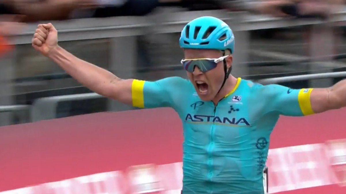 Michael Valgren remporte l'Amstel Gold Race