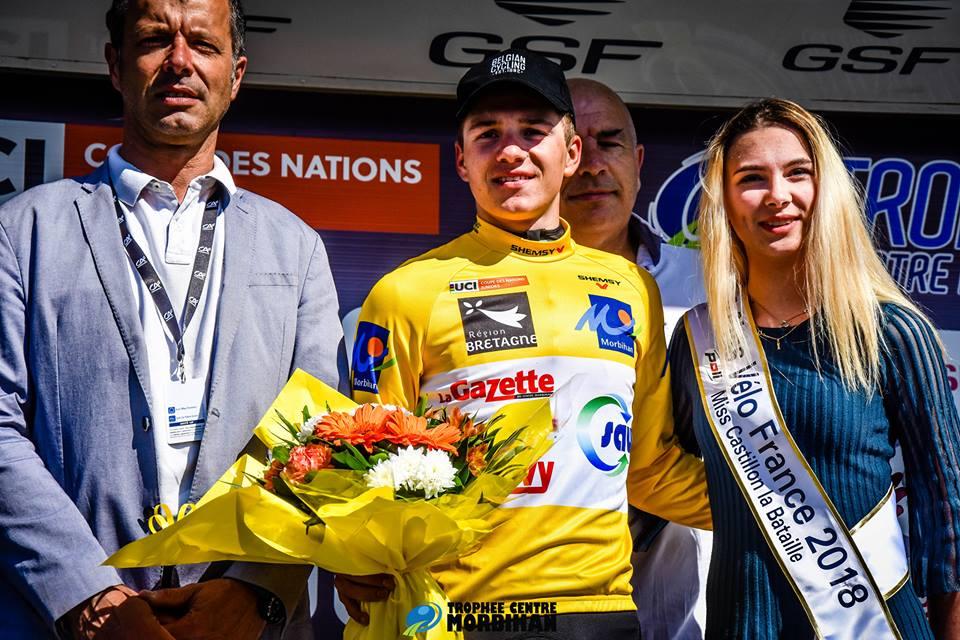 Trophée Centre Morbihan: La der pour Carlos Rodriguez, Remco Evenepoel pour le général