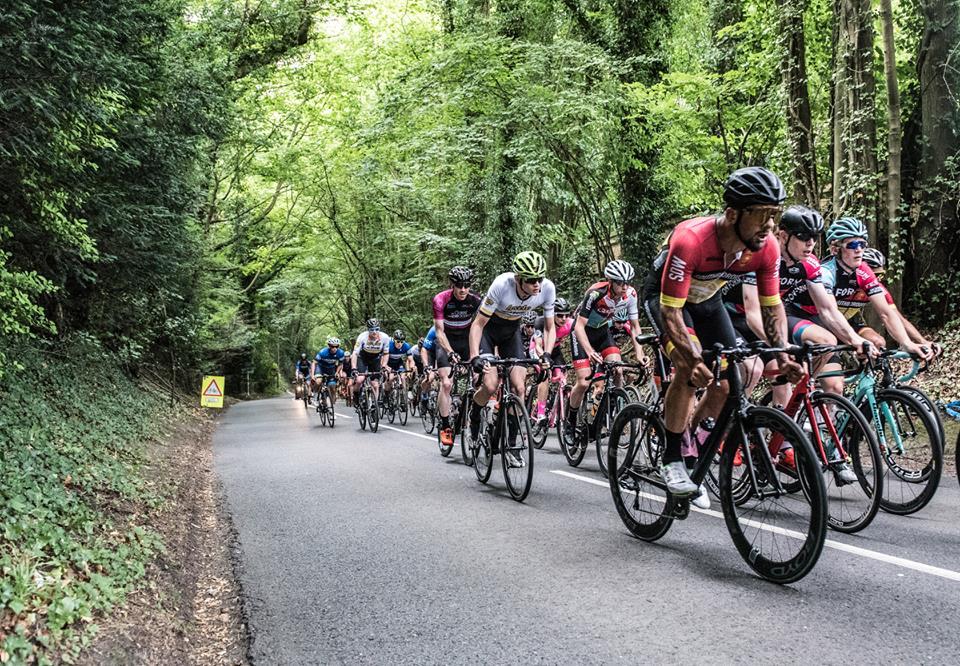 Les Bretons de l'EC Rennaise sur le Tour du Sussex