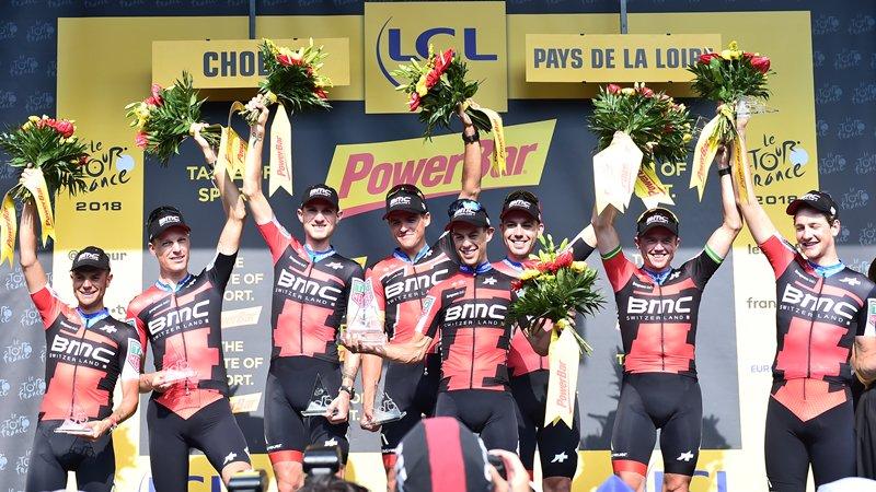 Tour de France: Greg van Avermaet en jaune