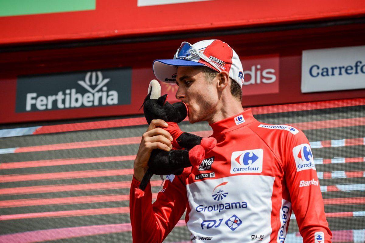 L'Antibois Rudy Molard premier Français leader de la Vuelta depuis 2011