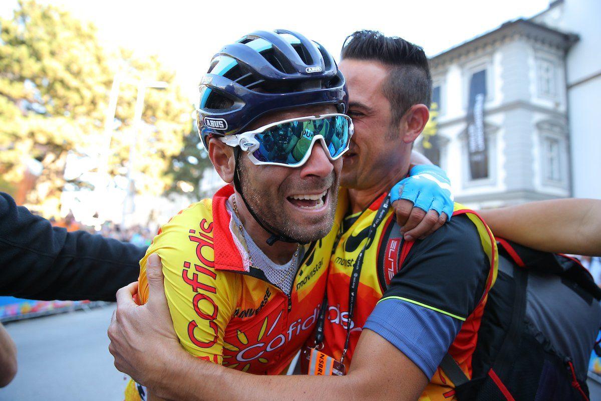 Valverde bat Bardet pour le titre mondial — Cyclisme
