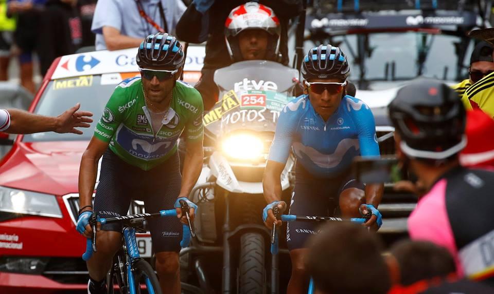 Nairo Quintana; «Nous devons utiliser les moments difficiles pour aller de l'avant»