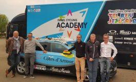 """Ran Margaliot; """"Israël Cycling Academy a été chercher le team des Côtes d'Armor"""""""