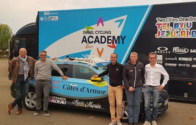Ran Margaliot; «Israël Cycling Academy a été chercher le team des Côtes d'Armor»