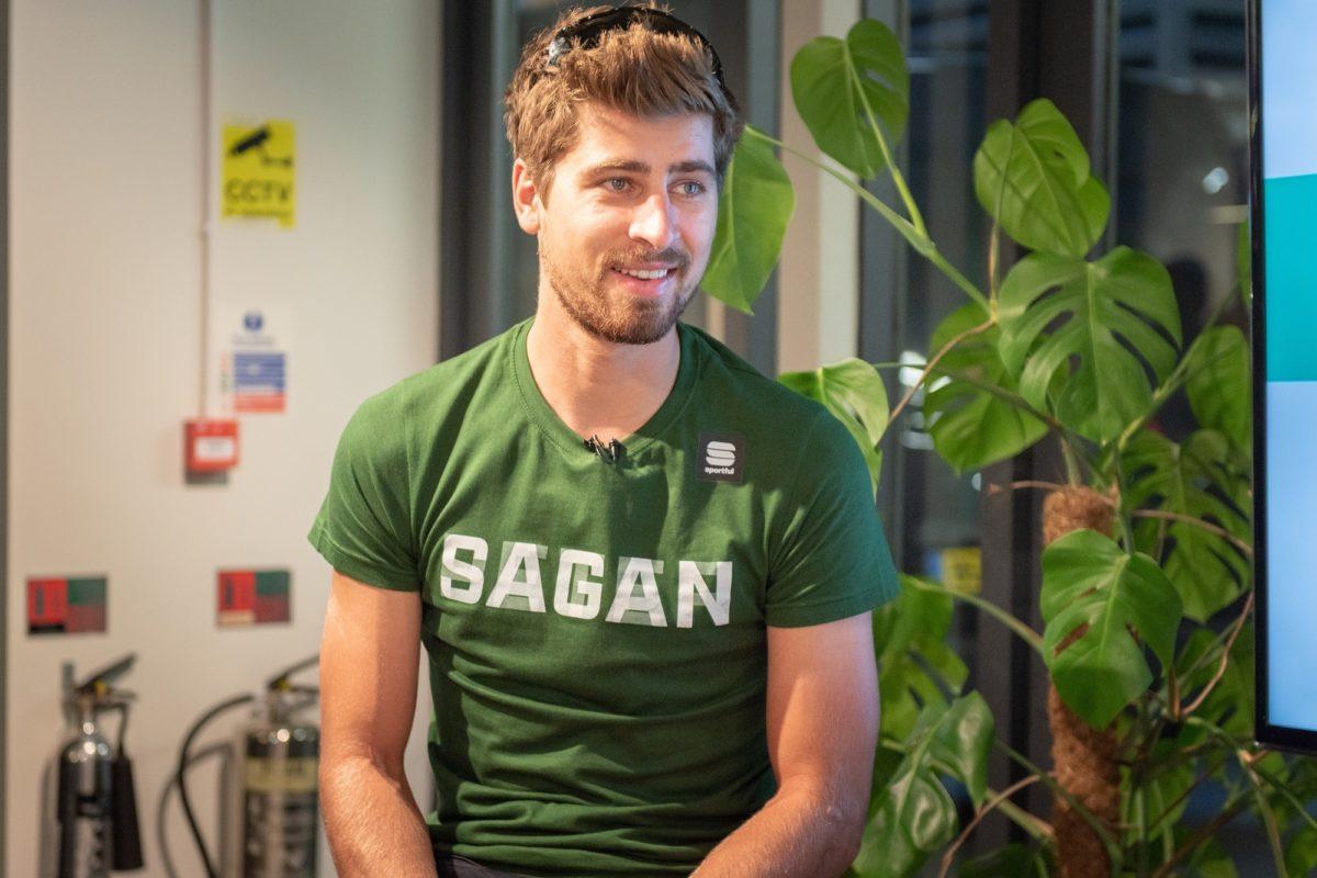 Peter Sagan; «Il m'a demandé «Pourquoi est-il inscrit Sagan sur ton maillot? Peter Sagan? Qui est ce?»»